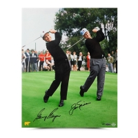 Gary Player & Jack Nicklaus Signed 16x20 Photo (UDA COA)