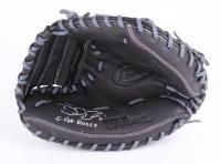 "David Ross Signed Wilson Full-Size Pro Model Baseball Catchers Glove Inscribed ""G-PA Rossy"" (Schwartz COA)"