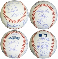 2016 Chicago Cubs Team Signed Rawlings Official MLB Baseball (22 Sigs) at PristineAuction.com