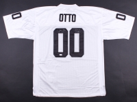 """Jim Otto Signed Raiders Throwback 1974 Jersey Inscribed """"H.O.F. 1980"""" (JSA COA)"""