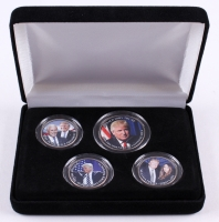Donald Trump 45th President U.S. Coin Collection with Display Case