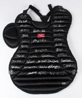 Authentic Rawlings Chest Protector Signed by (35) Legendary Catchers with Gary Carter, Carlton Fisk, Bob Boone, Darren Daulton, Brian Dorsett,  Sal Fasano, Barry Foote, Rich Gedman, Todd Greene, Jerry Grote, Ron Hodges (MAB Hologram)
