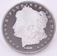 Morgan Dollar Design 1 oz. .999 Fine Silver Round