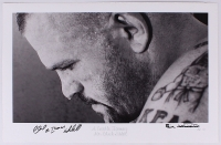 "Chuck Liddell ""A Gentle Iceman"" Signed 22"" x 14"" UFC Fine Art Giclee by Iconic Sports Photographer Eric Williams (Artist Proof #1/1)"