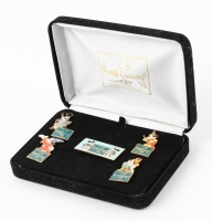 "1990 Vintage Walt Disney ""Many Faces of Mickey Mouse"" Classics Collections Pin Set at PristineAuction.com"