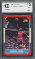 1986-87 Fleer #57 Michael Jordan RC (BCCG 10)