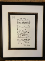 "John Lennon Limited Edition Serigraph ""Yer Blues"" Published by Yoko Ono & Bag One Editions 1995 from the Original 1968 Hand Written Lyrics at PristineAuction.com"