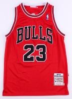 Michael Jordan Signed Bulls Jersey (UDA COA) at PristineAuction.com