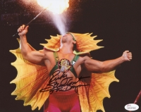"""Ricky Steamboat Signed 8x10 Photo Inscribed """"The Dragon"""" (JSA COA) at PristineAuction.com"""