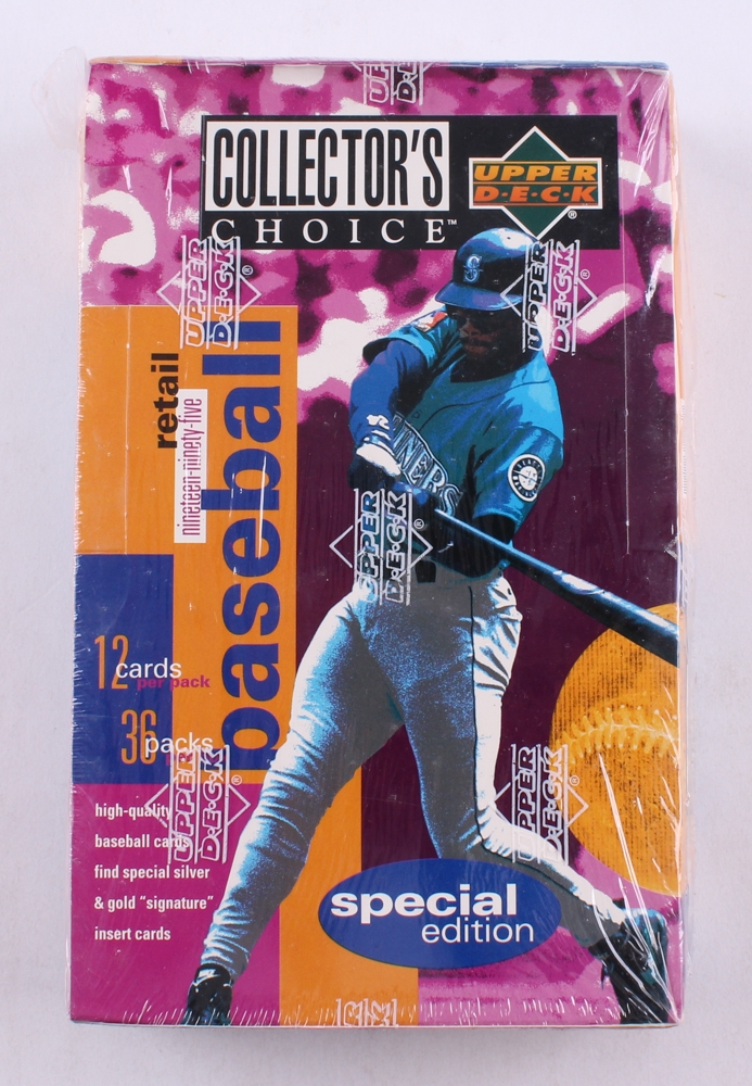 1994 upper deck collector 39 s choice unopened box of 432 baseball cards pristine auction. Black Bedroom Furniture Sets. Home Design Ideas