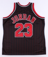 Michael Jordan Signed Bulls Authentic Mitchell & Ness Jersey (UDA COA)
