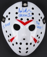 "Ari Lehman Signed Jason ""Friday the 13th"" Hockey Mask Inscribed ""Jason 1"" & ""I Rule The Lake!"" (PA COA)"