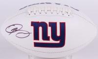 Odell Beckham Jr. Signed Giants Logo Football (JSA COA) at PristineAuction.com