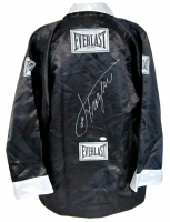 Joe Frazier Signed Everlast Boxing Robe (SI COA & JSA Hologram)