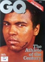 Muhammad Ali Signed Boxing GQ Magazine (PSA LOA)