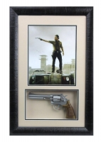"Rick Grimes ""The Walking Dead"" 23x27 Custom Framed Display with Replica Prop Gun"