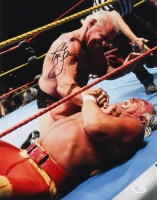 "Ric Flair Signed 11x14 Photo Inscribed ""16x"" (JSA COA)"