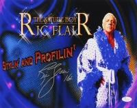 "Ric Flair Signed 11x14 Photo Inscribed ""16x"" (JSA COA)"