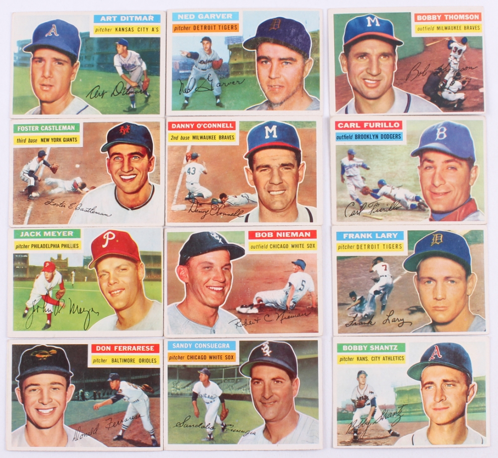 1956 Topps #261 Bobby Shantz Kansas City Athletics Baseball Card