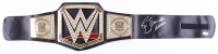 "Ric Flair Signed WWE Championship Belt Inscribed ""16x Wooooo"" (JSA)"