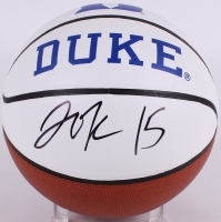 Jahlil Okafor Signed Duke Blue Devils Logo Basketball (Schwartz COA) at PristineAuction.com
