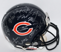 1985 Bears Team Signed Full-Size Authentic Proline Helmet Signed by (30) With Mike Ditka, Jim McMahon, Mike Singletary, Richard Dent, Dan Hampton (Schwartz COA)