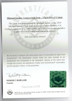 Michael Jordan Signed Ultra Rare 1985 Prism/Jewel Stickers #7 (PSA Authentic & UDA COA) at PristineAuction.com