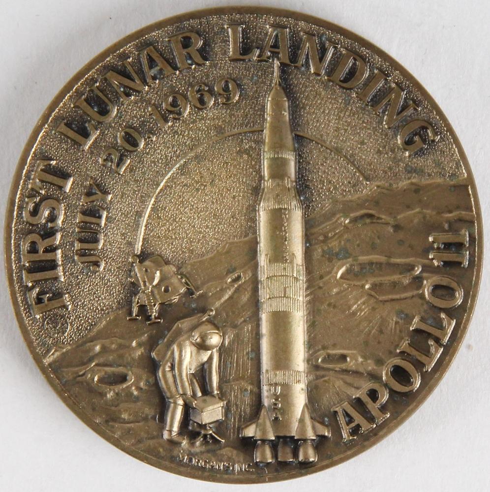 apollo 11 moon landing commemorative coin - photo #22