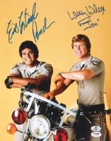 "Erik Estrada & Larry Wilcox Signed ""CHiPs"" 11x14 Photo Inscribed ""Ponch"" & ""Jon"" (PSA COA & BAS COA)"