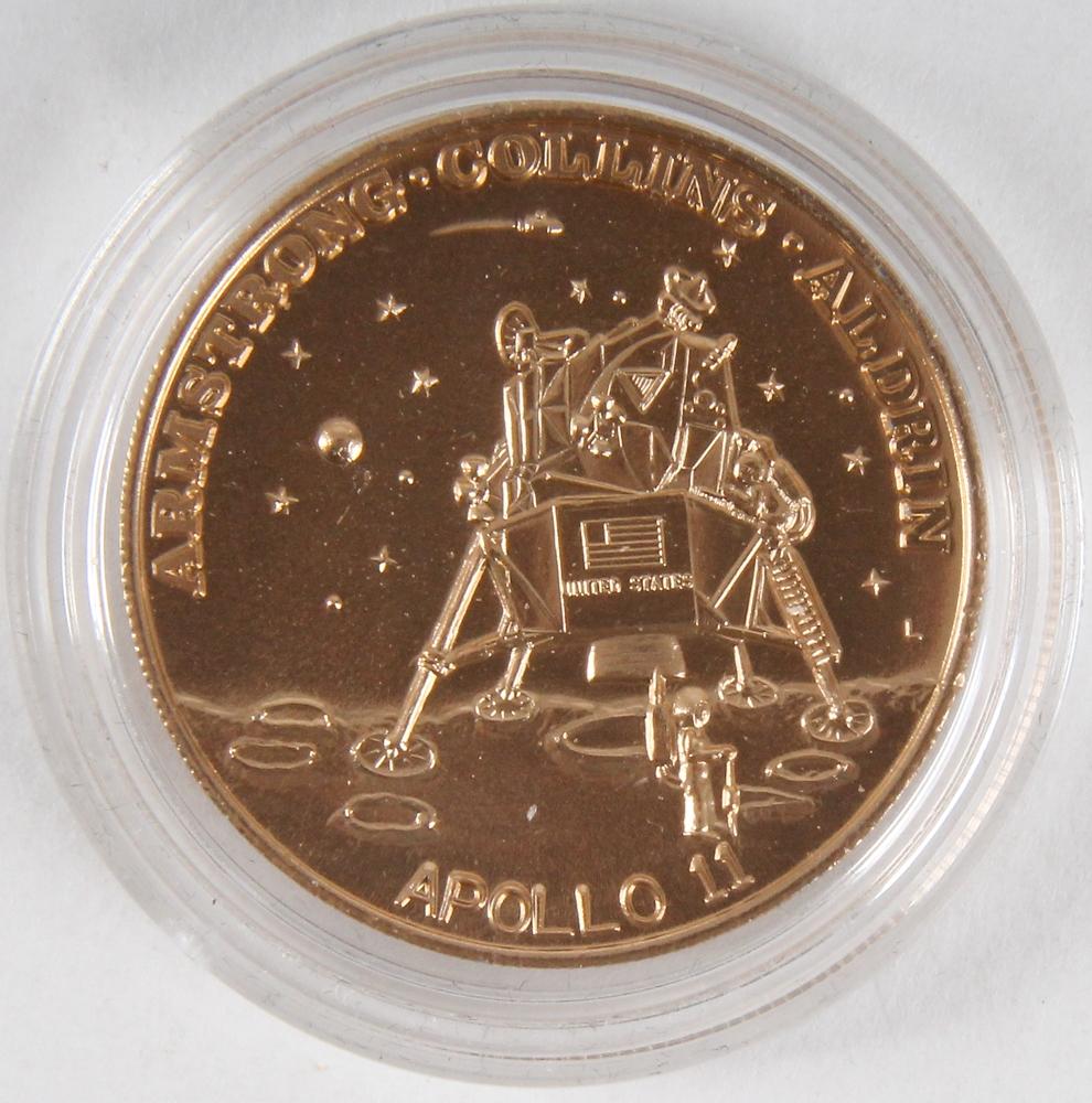 apollo 11 moon landing commemorative coin - photo #43