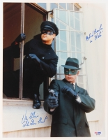 "Van Williams Signed ""Green Hornet"" 11x14 Photo Inscribed ""The Green Hornet"" & ""My Friend Bruce Lee as Kato"" (PSA Hologram)"