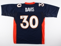 Terrell Davis Signed Broncos Jersey with Super Bowl XXXII Patch (PSA COA)