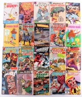 Lot of (20) Vintage Assorted Comic Books with Daredevil, Warlord, Firestorm