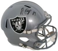 Amari Cooper Signed Raiders Full-Size Speed Helmet (JSA COA)