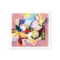 "David Bovetez Signed ""Fiesta"" Limited Edition 19x21 Lithograph at PristineAuction.com"