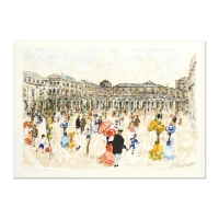 """Urbain Huchet Signed """"Louve"""" Limited Edition 21x29 Lithograph"""