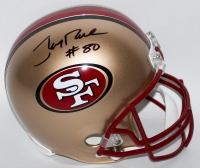 Jerry Rice Signed 49ers Full-Size Helmet (PSA COA)