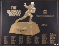 "O.J. Simpson Signed ""The Heisman Trophy"" 22x28 Poster (JSA COA)"