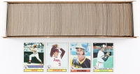1979 Topp Complete Set of (726) Baseball Cards with #166 Ozzie Smith, #640 Eddie Murray, #650 Pete Rose, #115 Nolan Ryan