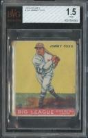 1933 Goudey #154 Jimmie Foxx RC (BVG 1.5)