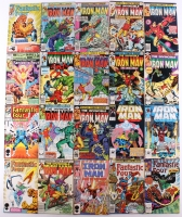 Lot of (20) Marvel Comic Books with (6) Fantastic 4 and (14) Iron Man