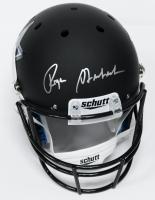 Roger Staubach Signed Cowboys Custom Matte Black Full-Size Helmet (JSA)