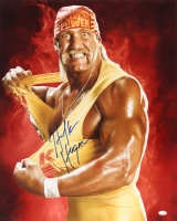 Hulk Hogan Signed 16x20 Photo (FSC COA)
