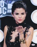 Selena Gomez Signed 11x14 Photo (PSA COA)