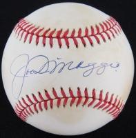 Joe DiMaggio Signed OAL Baseball (SOP COA)
