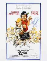 "Tatum O'Neal Signed ""The Bad News Bears"" 11x14 Movie Poster  (JSA COA)"