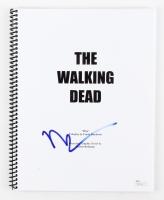 """Norman Reedus Signed """"The Walking Dead"""" Script (JSA COA)"""