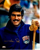 Mark Spitz Signed 1972 Olympics 8x10 Photo (FSC COA)