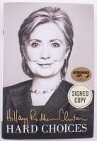 "Hillary Clinton Signed ""Hard Choices"" Hardback Book (PSA COA)"
