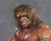 The Ultimate Warrior Signed WWF 8x10 Photo (Project Warrior Hologram)